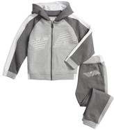 Armani Junior Boy's Hooded Jacket & Sweatpants Set