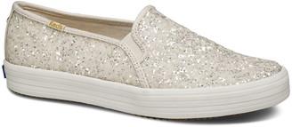 Keds x kate spade double decker glitter sneakers