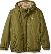 U.S. Polo Assn. Men's Hooded Windbreaker Jacket