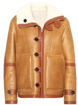 Joseph Reversible leather and shearling coat