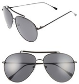 A. J. Morgan Women's A.j. Morgan Skyward 61Mm Aviator Sunglasses - Black