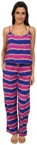 Tommy Bahama Paint Stripe Long Romper Cover-Up