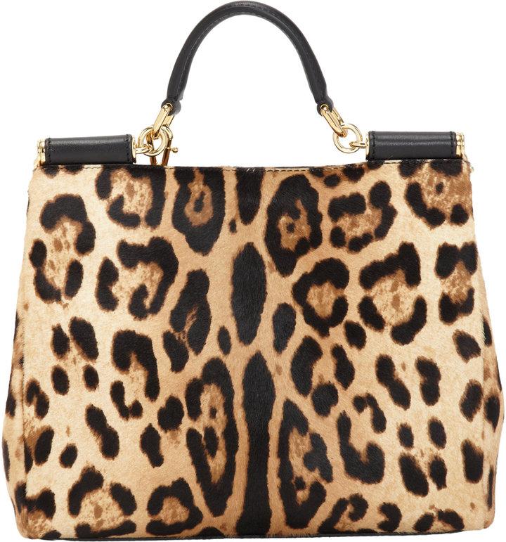 Dolce & Gabbana Small Calf Hair Miss Sicily Bag