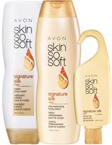 Avon SKIN SO SOFT Signature Silk 3-Piece Body Collection