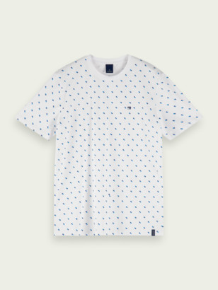 Scotch & Soda All-Over Printed T-Shirt | Men