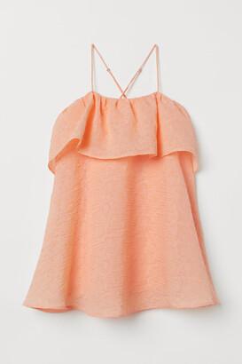 H&M A-line Dress - Orange