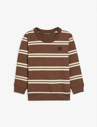 Acne Studios Mini Fairview stripe cotton sweatshirt 3-10 years