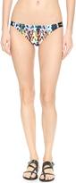 Milly Batik Print Bikini Bottoms