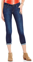 Levi's 535 Cropped Stretch Super Skinny Jeans