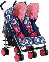 Cosatto Supa Dupa Go Twin Stroller - Magic Unicorns