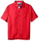 Nat Nast Men's Solid Short Sleeve Shirt