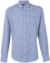 Woolrich checkered shirt - men - Cotton/Linen/Flax - L