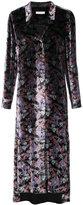 Equipment floral pattern shirt dress