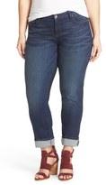 KUT from the Kloth 'Catherine' Stretch Boyfriend Jeans (Carefulness) (Plus Size)