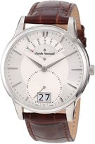 Gents Claude Bernard Men's 34004 3 AIN Classic Brown Leather Big Day Date Watch