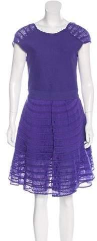 Maison Rabih Kayrouz Textured A-Line Dress