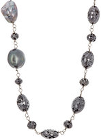 Monique Péan Women's Black Diamond Beaded Necklace