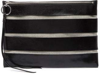Rebecca Minkoff Cage Leather Clutch