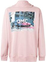 Omc - logo print hoodie - men - Cotton - S