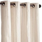 "Pier 1 Imports Jute Striped Ivory 108"" Curtain"