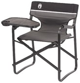 Coleman Deck Chair with Table - Black/Gray