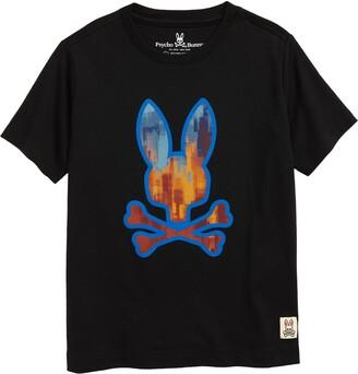Psycho Bunny Kids' Hassop Graphic Tee