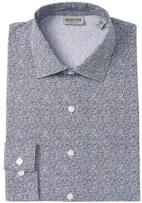 Kenneth Cole Reaction Abstract Slim Fit Dress Shirt