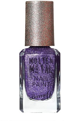 Barry M Molten Metals Nail Paint 10Ml Purple Frost