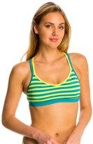 Nike Women's Evenflow Crossback Sport Bra Bikini Top 8135859