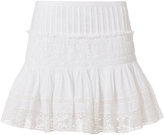 LOVESHACKFANCY Camilla Crochet Lace Mini Skirt
