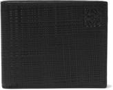 Loewe - Embossed Cross-grain Leather Billfold Wallet