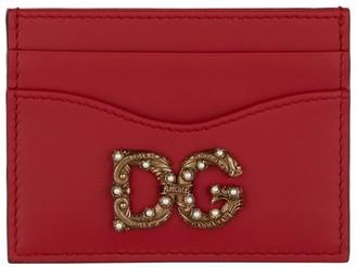 Dolce & Gabbana Leather Card Holder