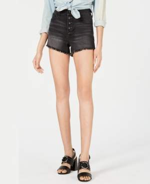 KENDALL + KYLIE Kenall + Kylie Button-Fly Cutoff Shorts