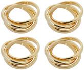 L'OBJET 3 Ring Napkin Rings - Set of 4