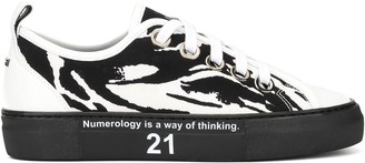 No.21 Animal Print Sneakers