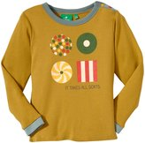 Little Green Radicals It Takes All Sorts Tee (Toddler/Kid) - Green-2-3 Years