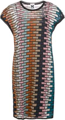 M Missoni knitted cut-out dress