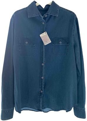 Barba Blue Denim - Jeans Top for Women
