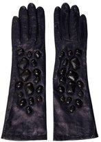 3.1 Phillip Lim Leather Embellished Gloves