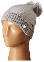 Betsey Johnson Fuzzy Logic Cuff Hat