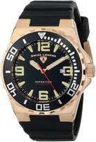 Swiss Legend Men's 10008-RG-01-BB Expedition Silicone Watch