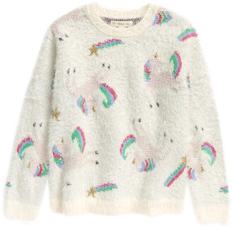 Tucker + Tate Kids' Cozy Unicorn Sweater