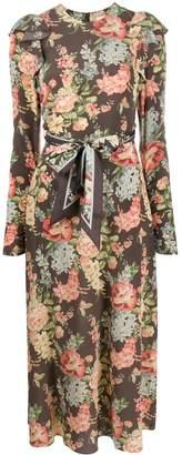 Zimmermann Espionage floral-print ruched dress