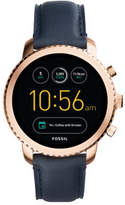 Fossil Q Explorist Blue Smartwatch