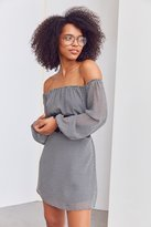 Ecote Off-The-Shoulder Swing Dress