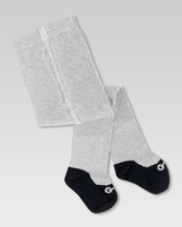 Gucci Baby Ballerina Tights with Knit Horsebit Ballet Shoe Print