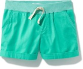 Old Navy Drawstring Twill Shorts for Girls