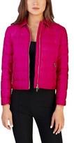 Prada Women's Nylon Puffer Down Jacket Pink.
