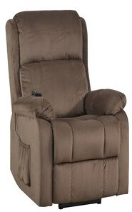 Red Barrel Studio Bassford Power Lift Assist Recliner with Heating