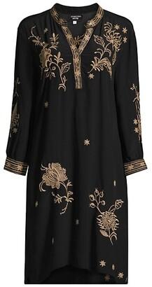 Johnny Was Phiona Silk Tunic Dress